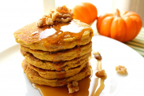 Paleo Breakfast Protein Pumpkin Pancakes.jpg