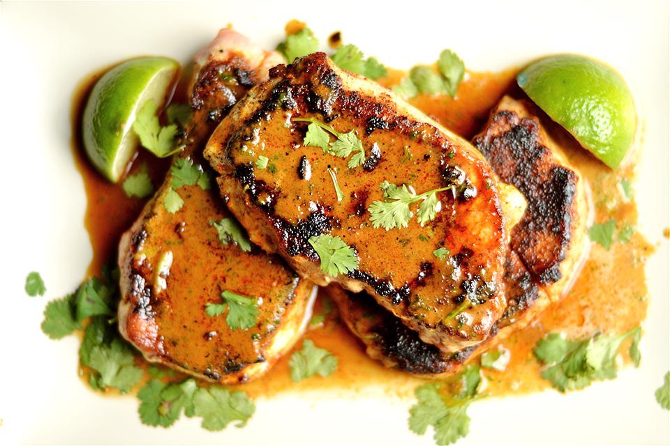 Creamy Smokey Chipotle Pork Chops