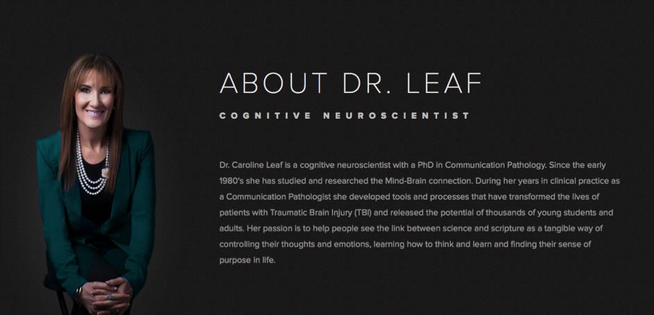 Detoxify Your Brain - Dr. Caroline Leaf