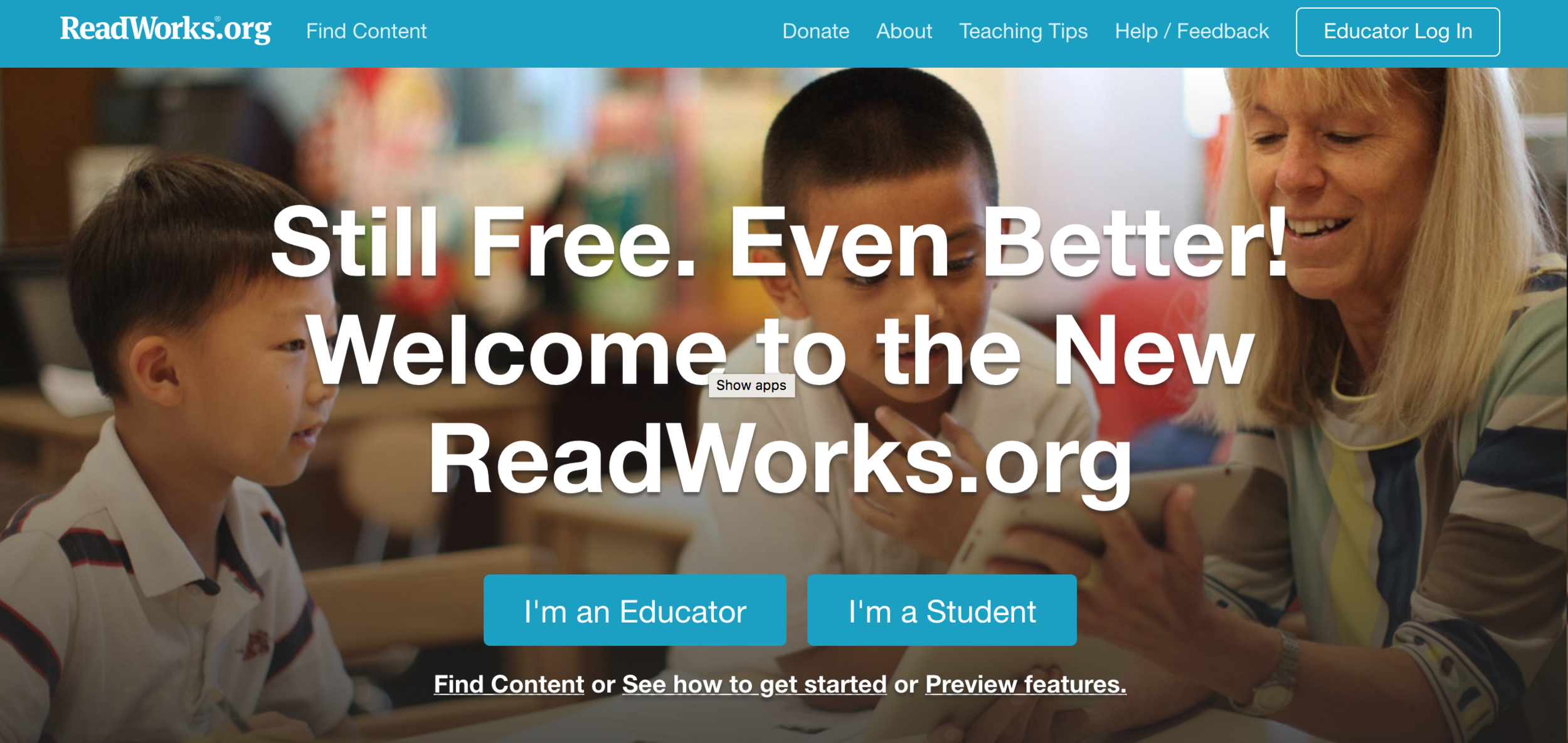 ReadWorks - On occasion, I have used assessments from ReadWorks, and I was impressed that the reading sections were standards specific for teachers and genuinely interesting for teachers. I have never been fully in this ecosphere, but it seems like when I check in every few months, there is some major feature added. I would love to explore this more fully.
