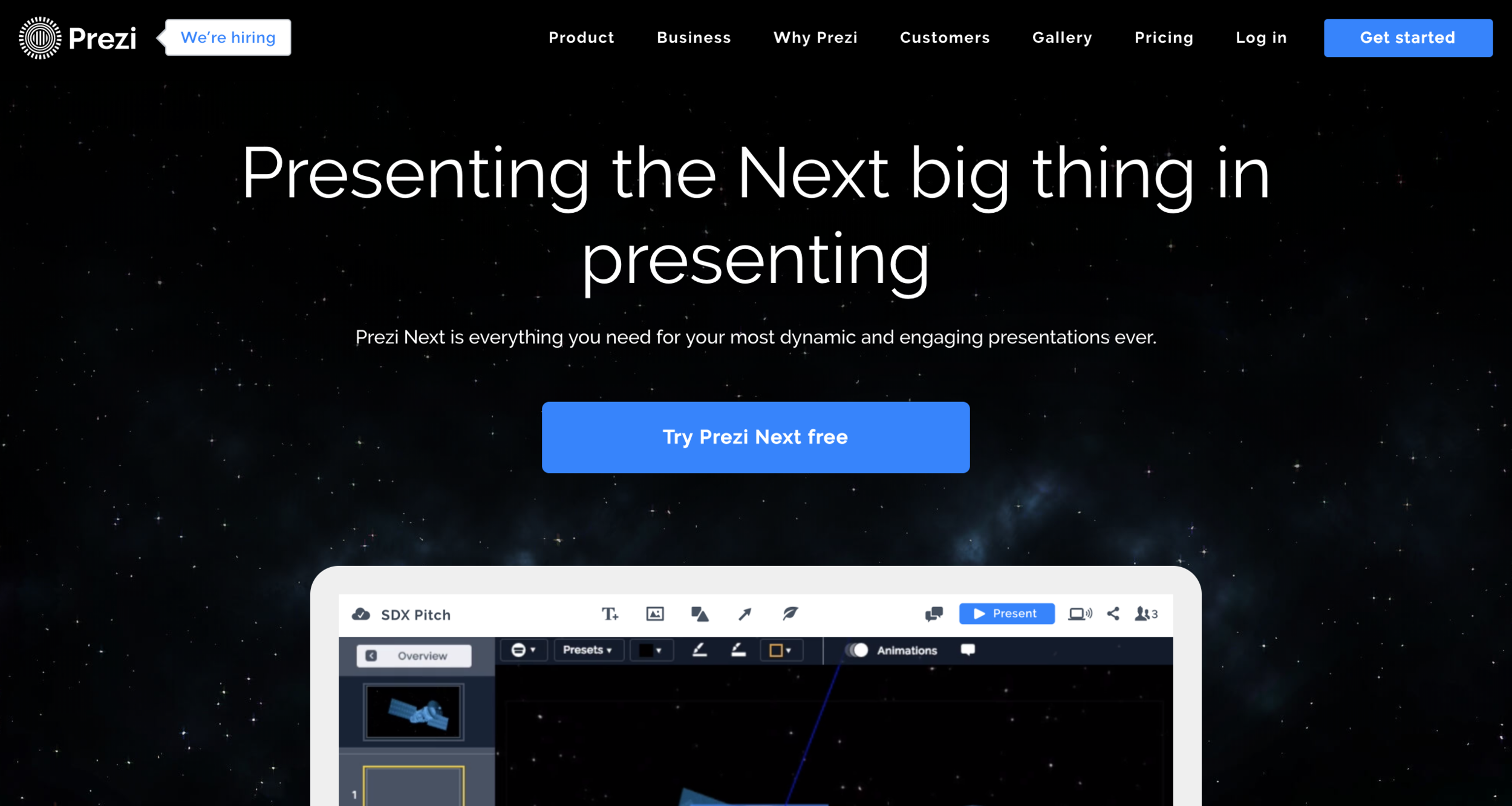 Prezi - I am enthralled by the storytelling potential that exists in the way Prezi transitions. I have spent countless hours retooling transitions in Prezi to capture the smoothest swoop and zaniest zoom. Personally, my loyalty remains with Google Slides, but I have thoroughly enjoyed spending far too long preparing Prezis.