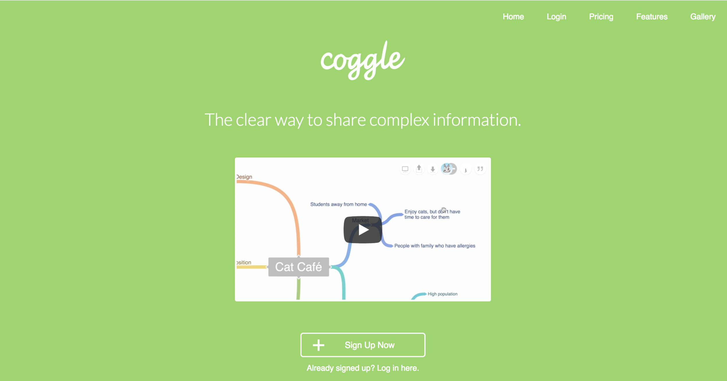 Coggle - I find Coggle to be a straightforward in the best ways possible. It gives structure to mindmaps, which is a helpful feature for students who want more support as they develop ideas. The website also allows for collaborative editing, which makes it easy for students to work on different sections of the mindmap at the same time. Students consider Coggle a particularly helpful resource for organizing parts of an essay.