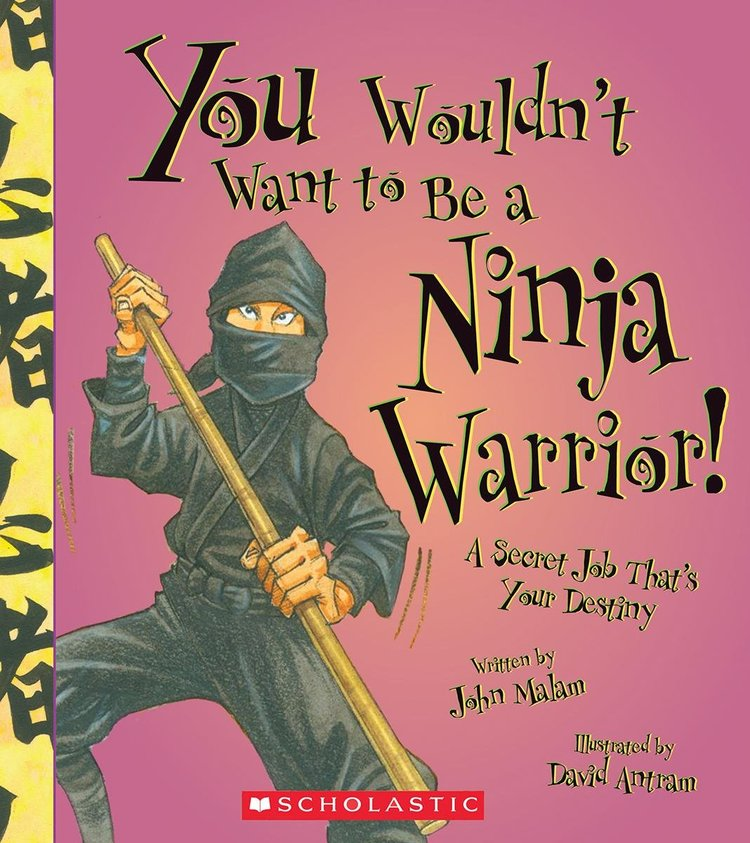 Books You Wouldn't Want to Be A Ninja Warrior.jpg