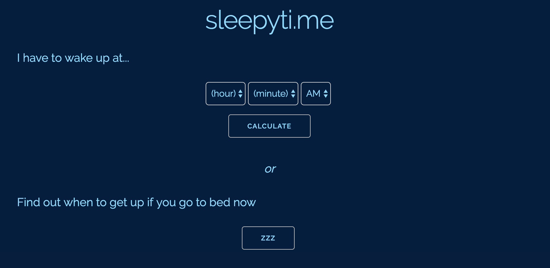 sleepyti.me - This simple calculator measures average sleep cycles to guide your best bedtimes and alarm clock settings. It feels a bit dated, but honestly, if students are going to be self-aware about their sleep habits while studying, this is a useful tool that might motivate students to optimize their studying decisions.