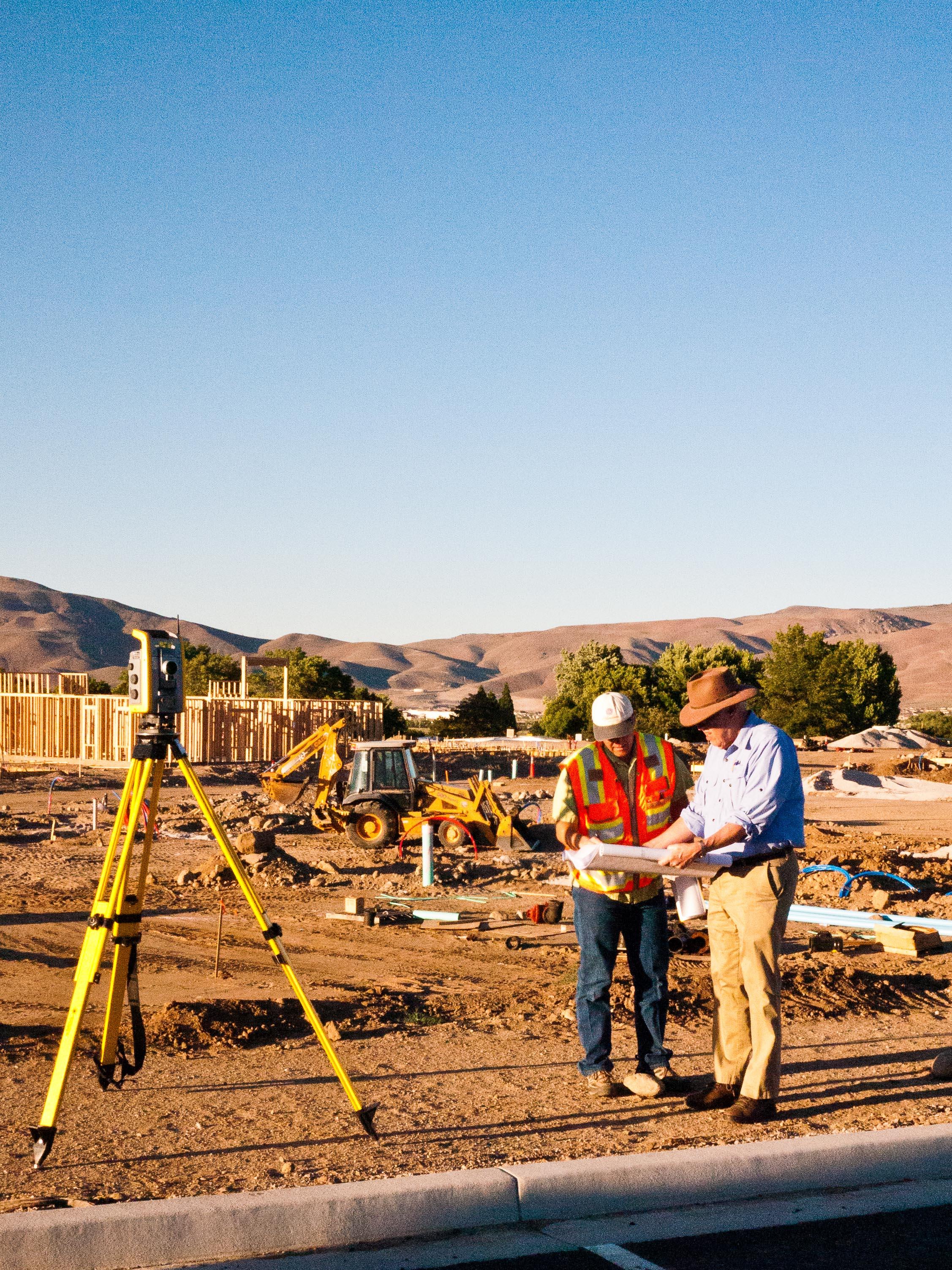 Reno Surveyor - Construction Staking