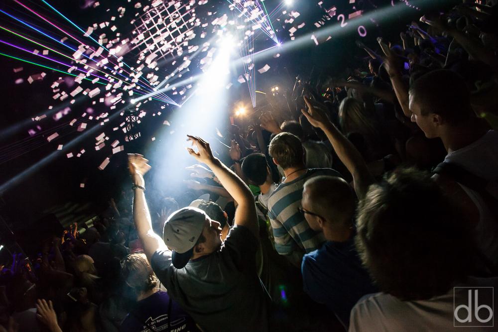 A fan dances at Bumbershoot EDM@EMP