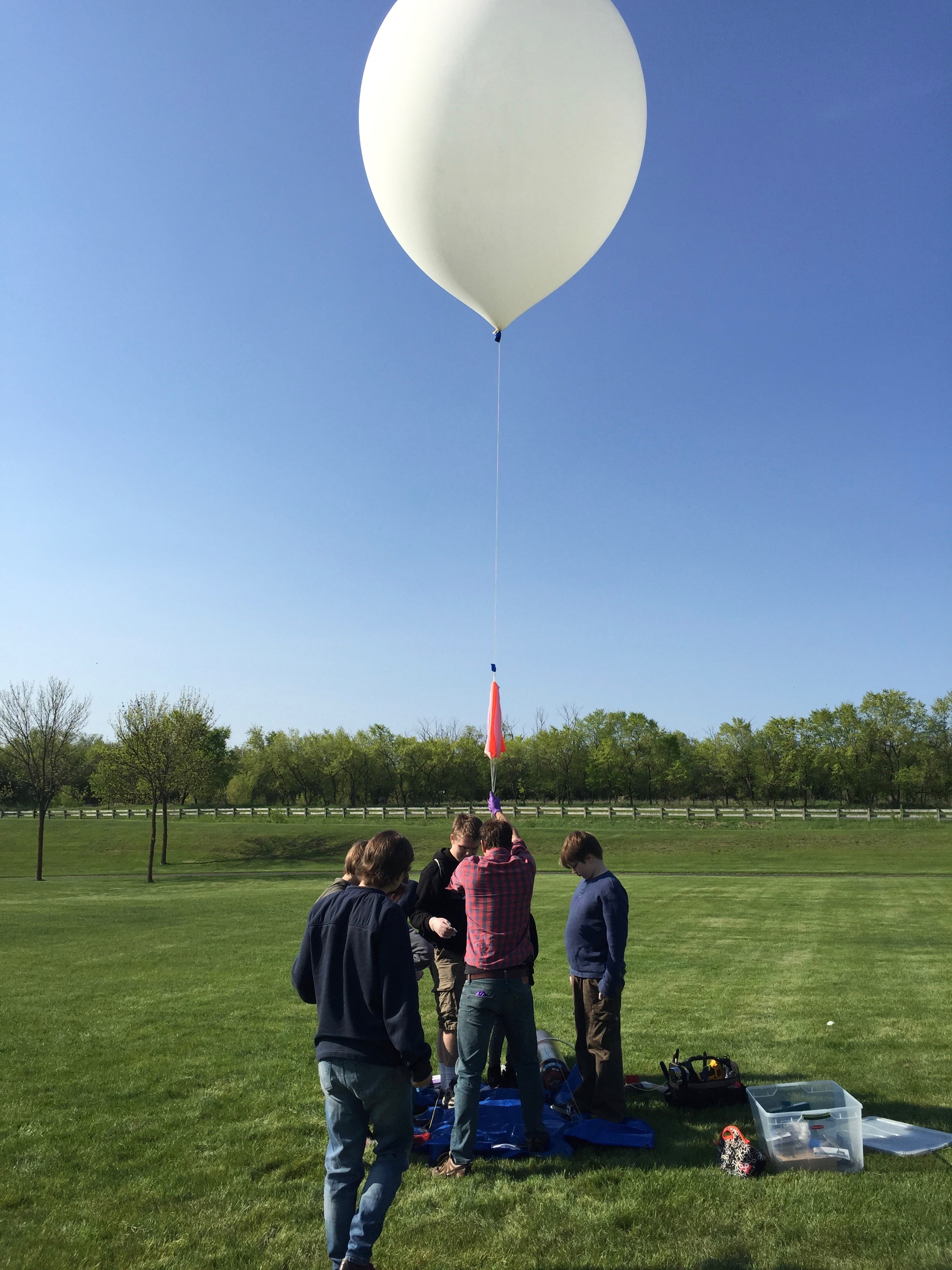 High Altitude Balloon Science - Payload Launch