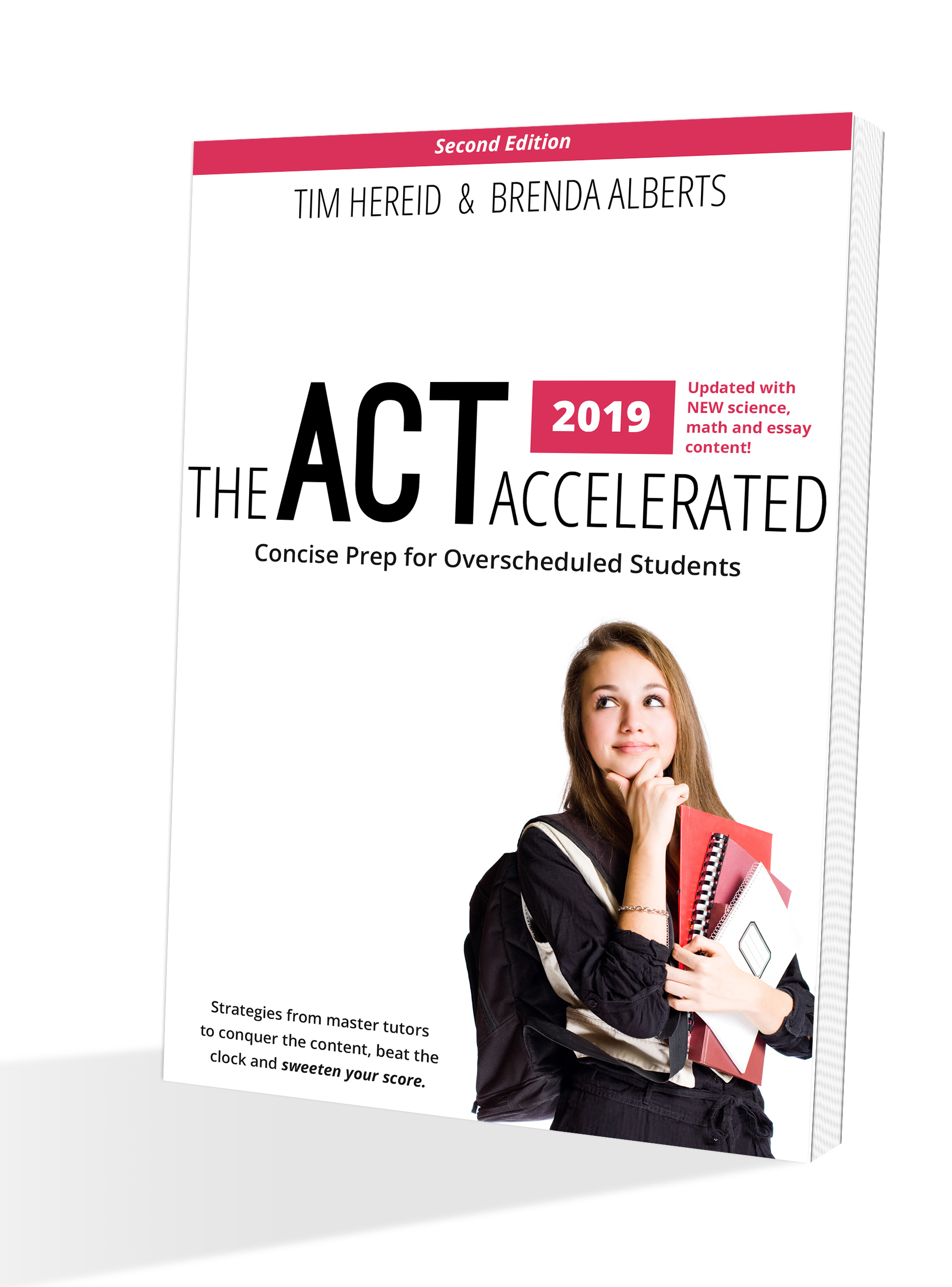 The ACT Accelerated - A no-nonsense prep book featuring the winning strategies of myself and fellow master-tutor Brenda Alberts. Over the past decade, we've improved the ACT scores of over 350 Minnesota students. At 150 pages, the length is perfect for students pursuing self-study on a tight schedule -- and a modest budget. Packed with hundreds of practice questions, diagrams, strategies and 50 videos, The ACT Accelerated is an unparalleled guide to the ACT, the most important college entrance exam today.