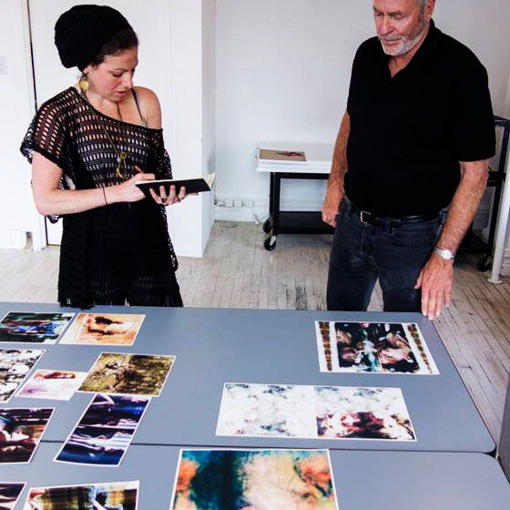 Initial meeting with Greg © 2013 Katrin Eismann