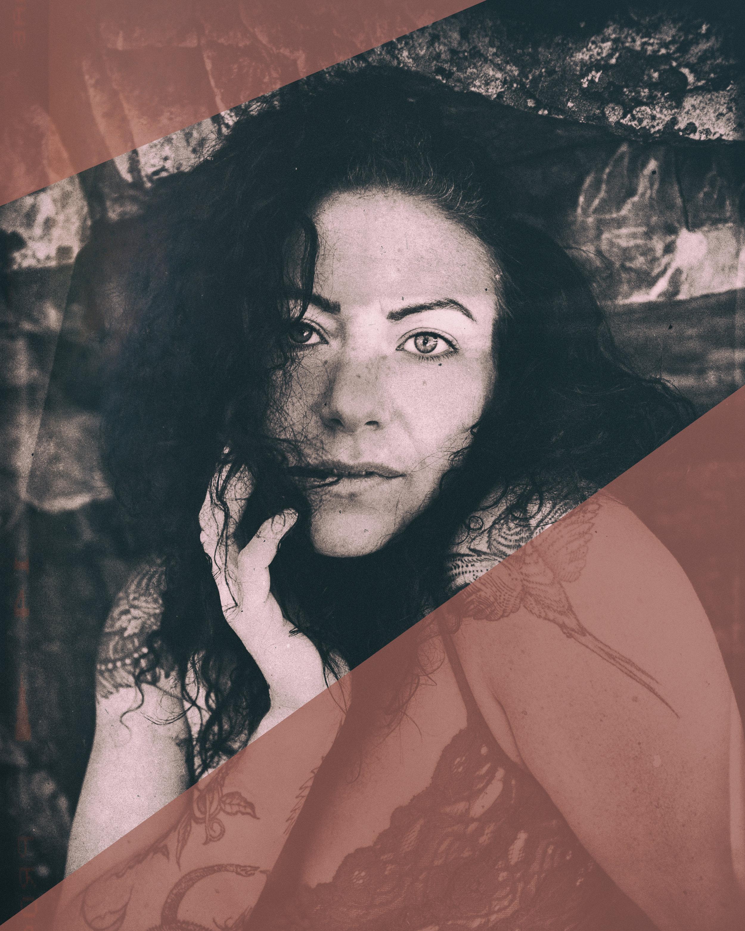 Stephanie Guttenplan - pookie - women artist coach - self portrait