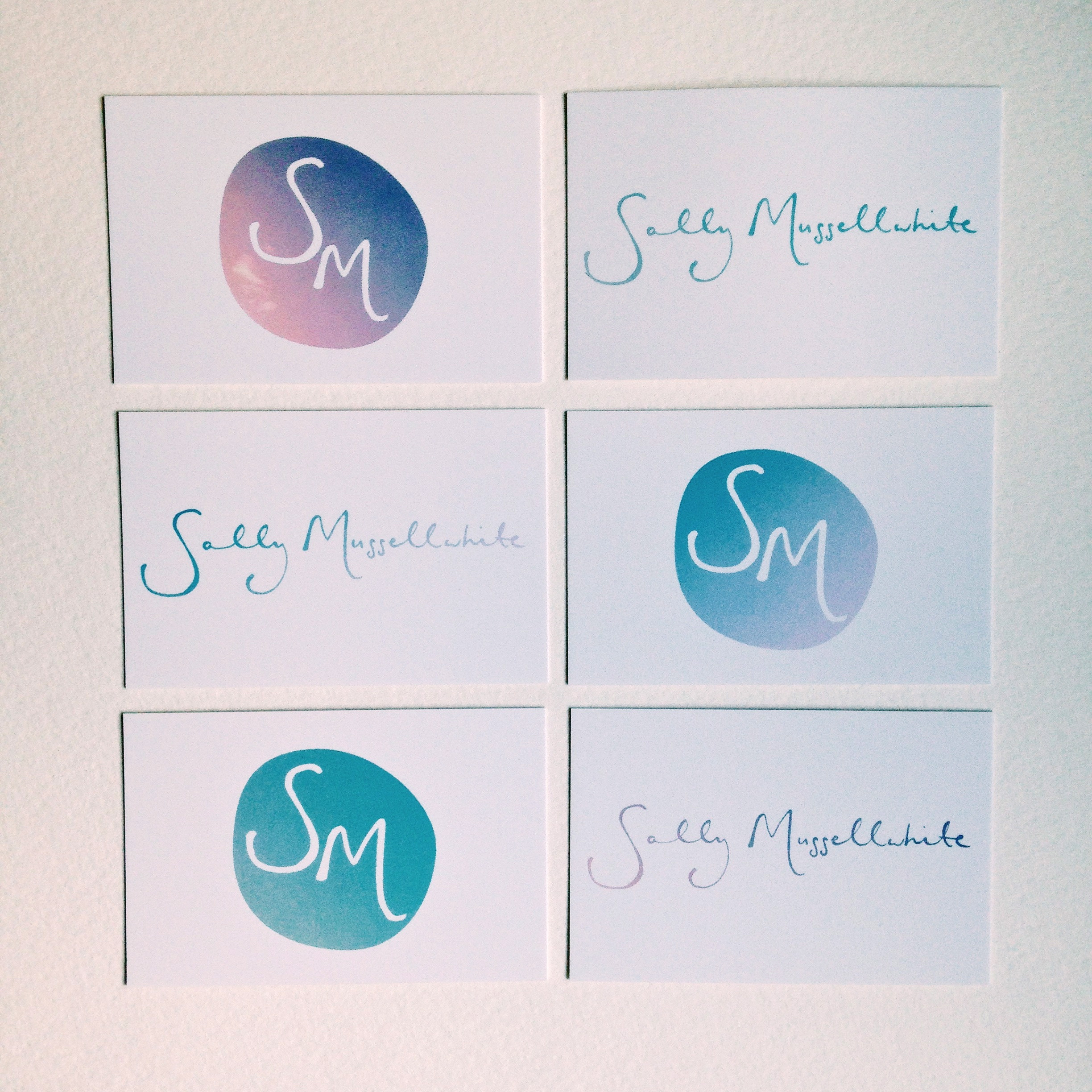 sally mussellwhite | business cards