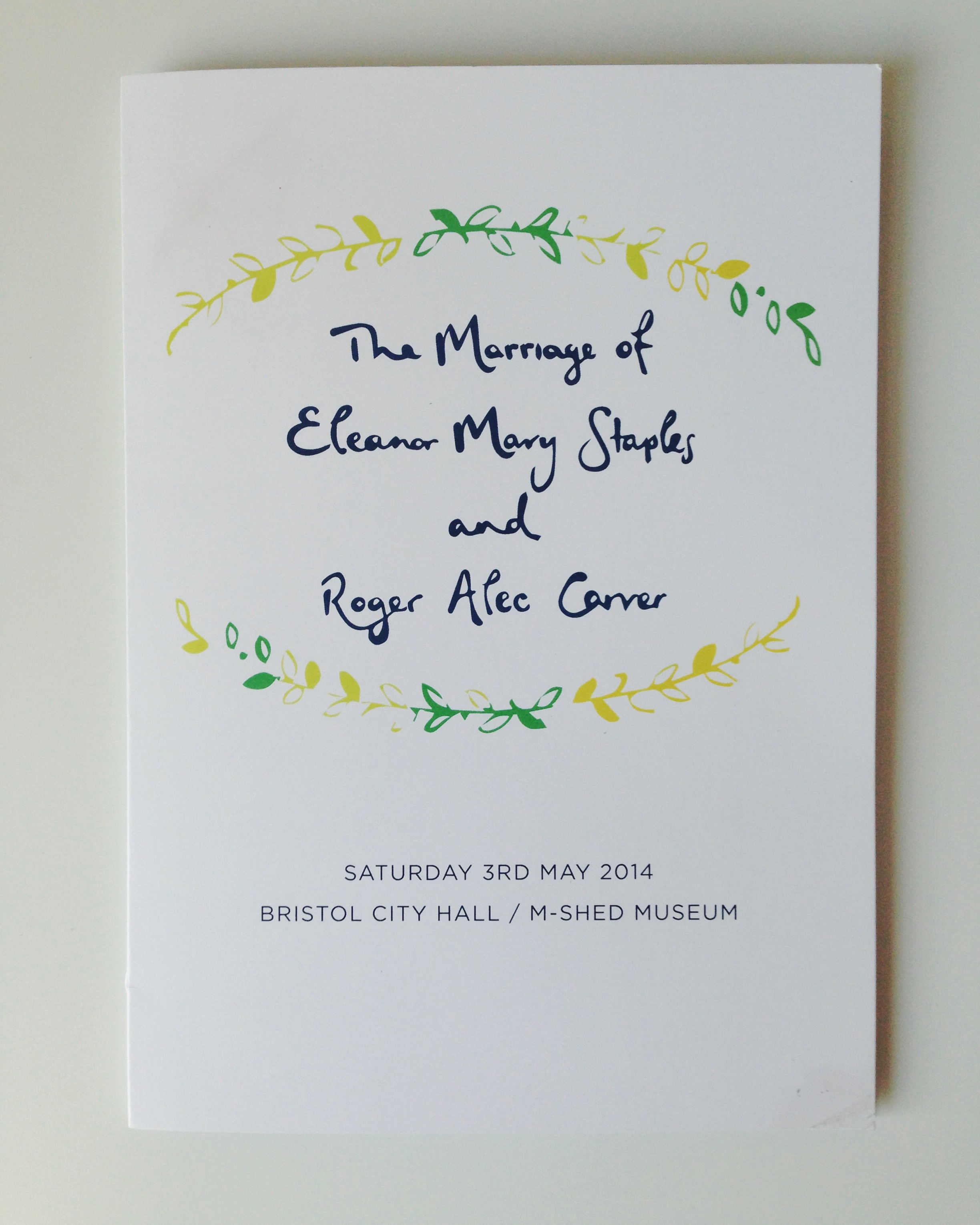 bespoke wedding stationery | sally mussellwhite