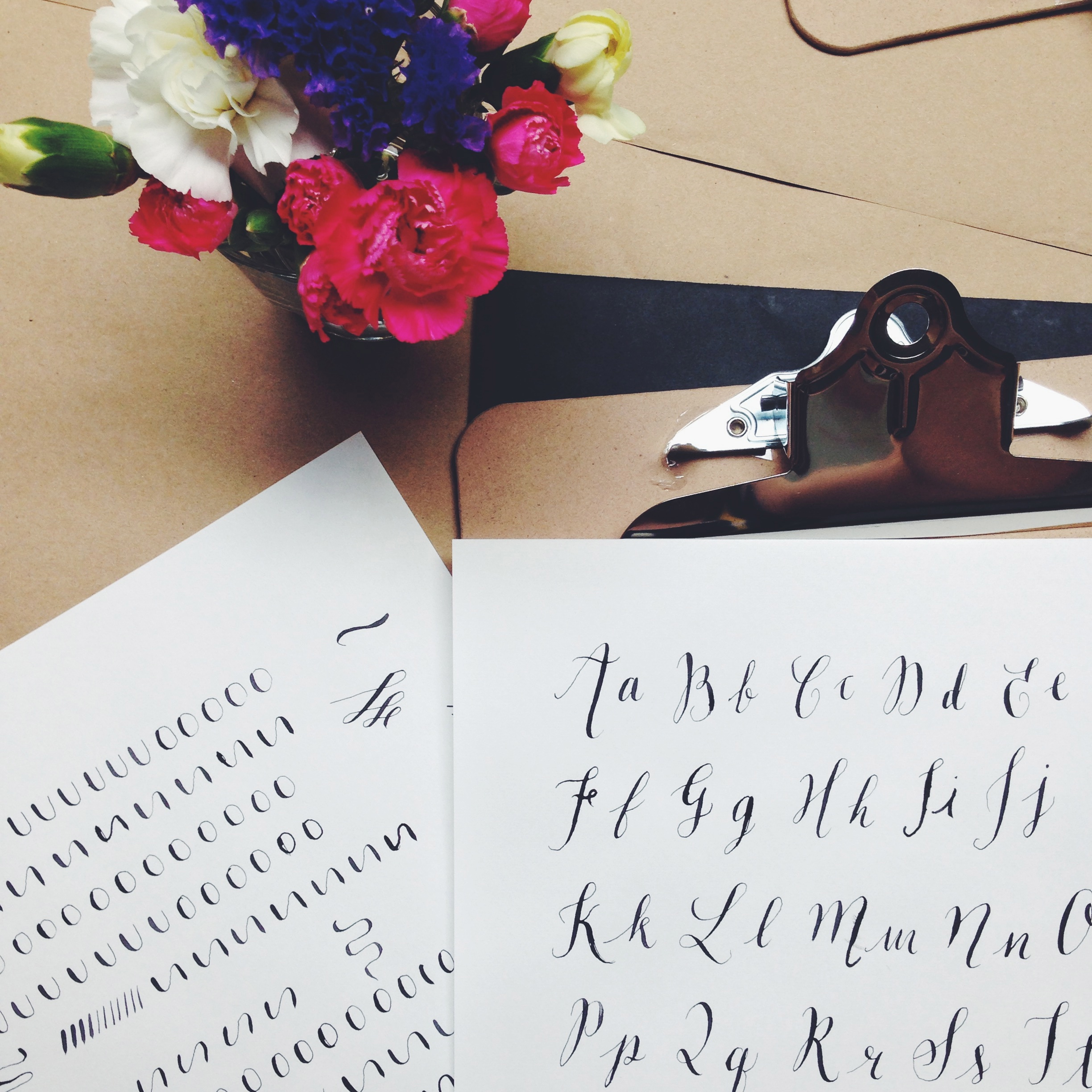 quill london calligraphy class | sally mussellwhite