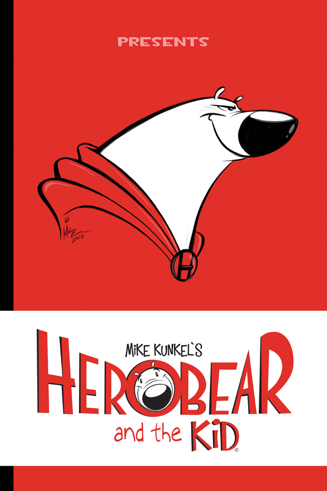 Herobear and the Kid SPECIAL #1 COVER