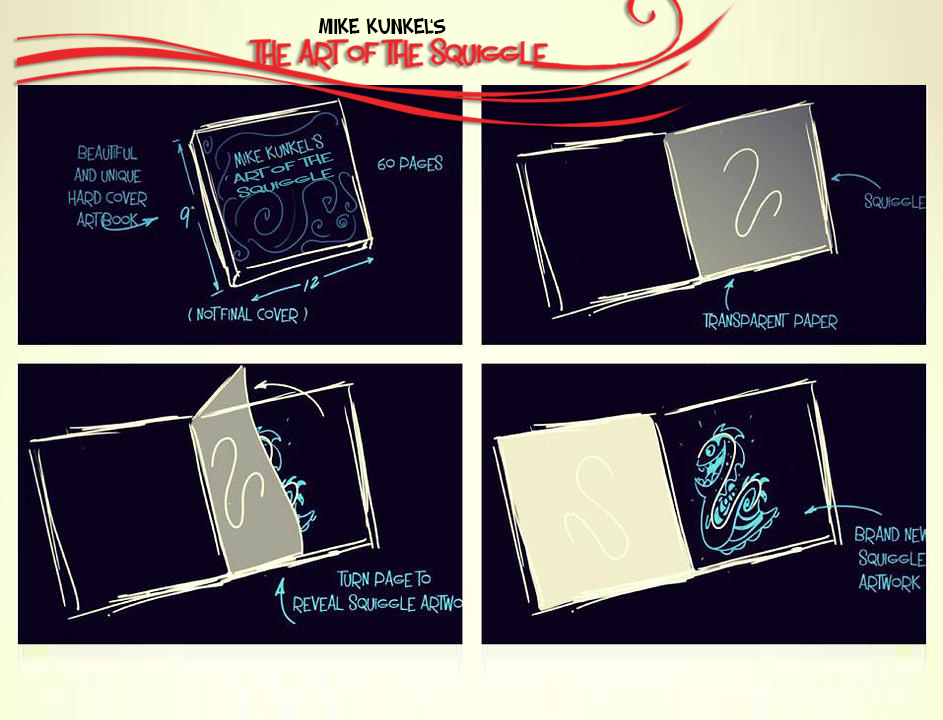 The Art of Squiggle book layout