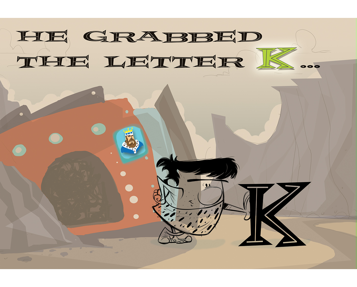 This blog post was brought to you by the Letter K