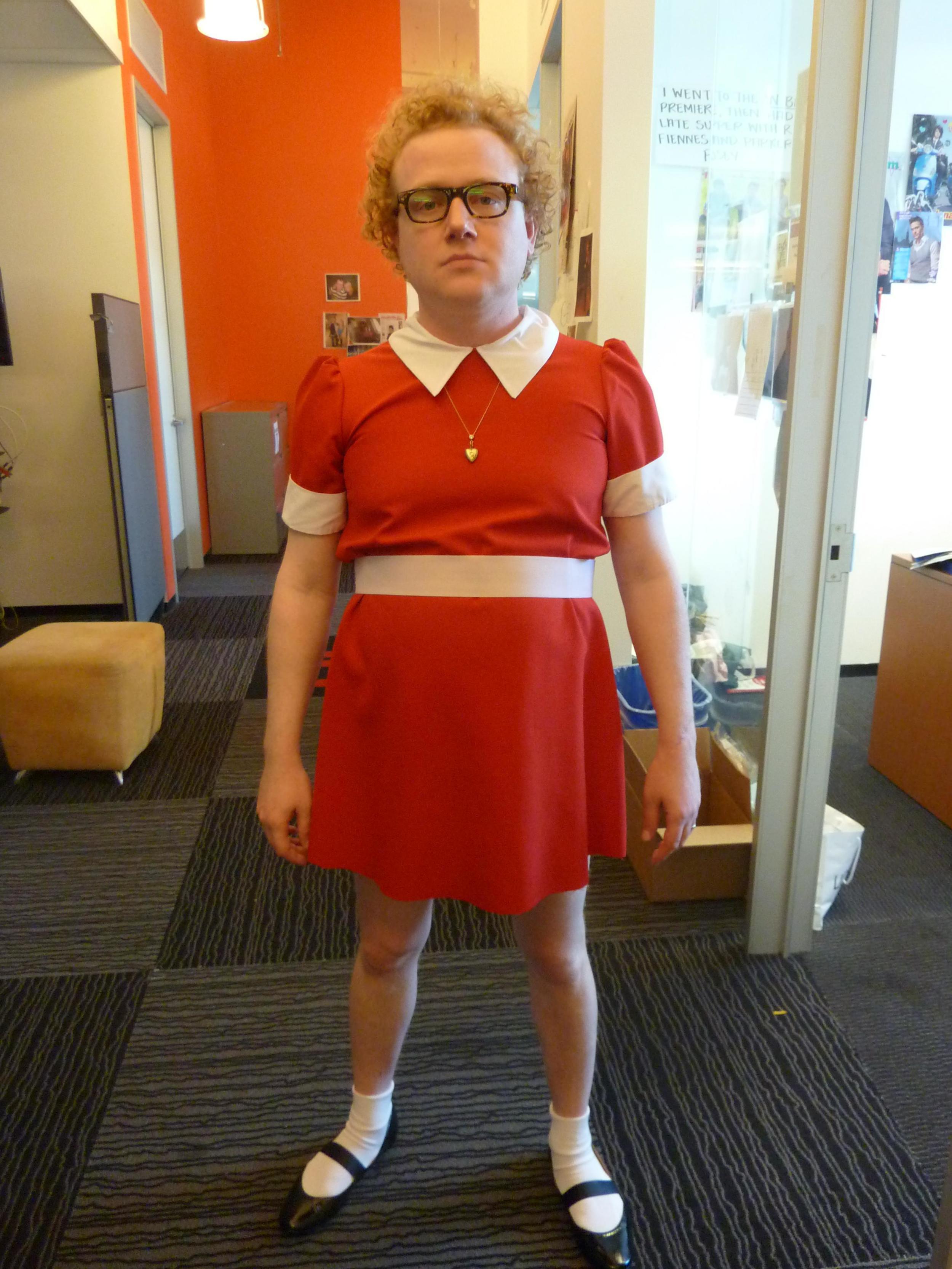 Brad as Orphan Annie.jpg