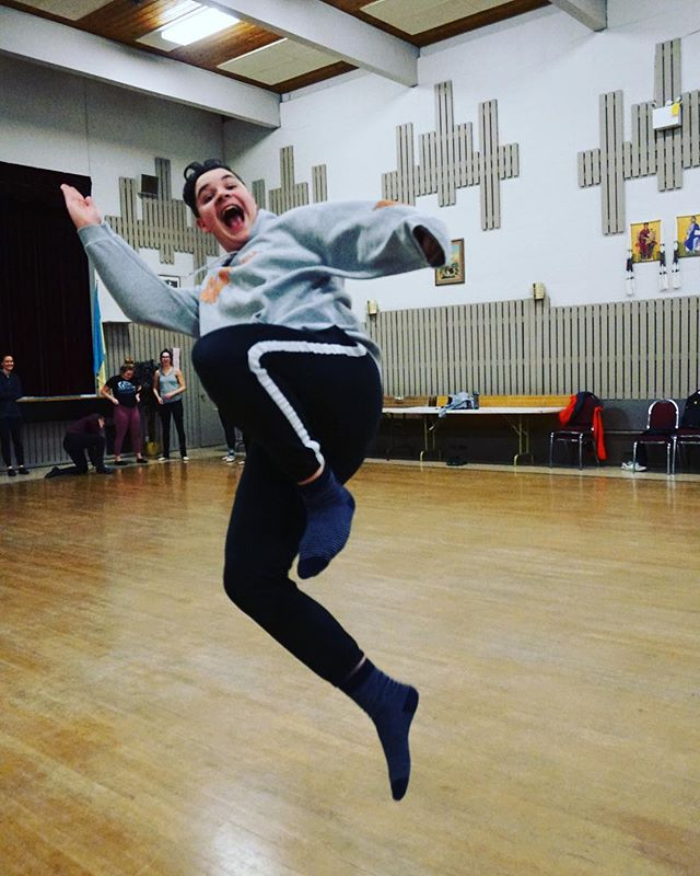 Leaping into a new season like... Senior classes have started but it's not too late to join! Next class is Sunday at 5pm! #kvitkadancers #ukrainiandance #surrey #surreyarts #surreydance