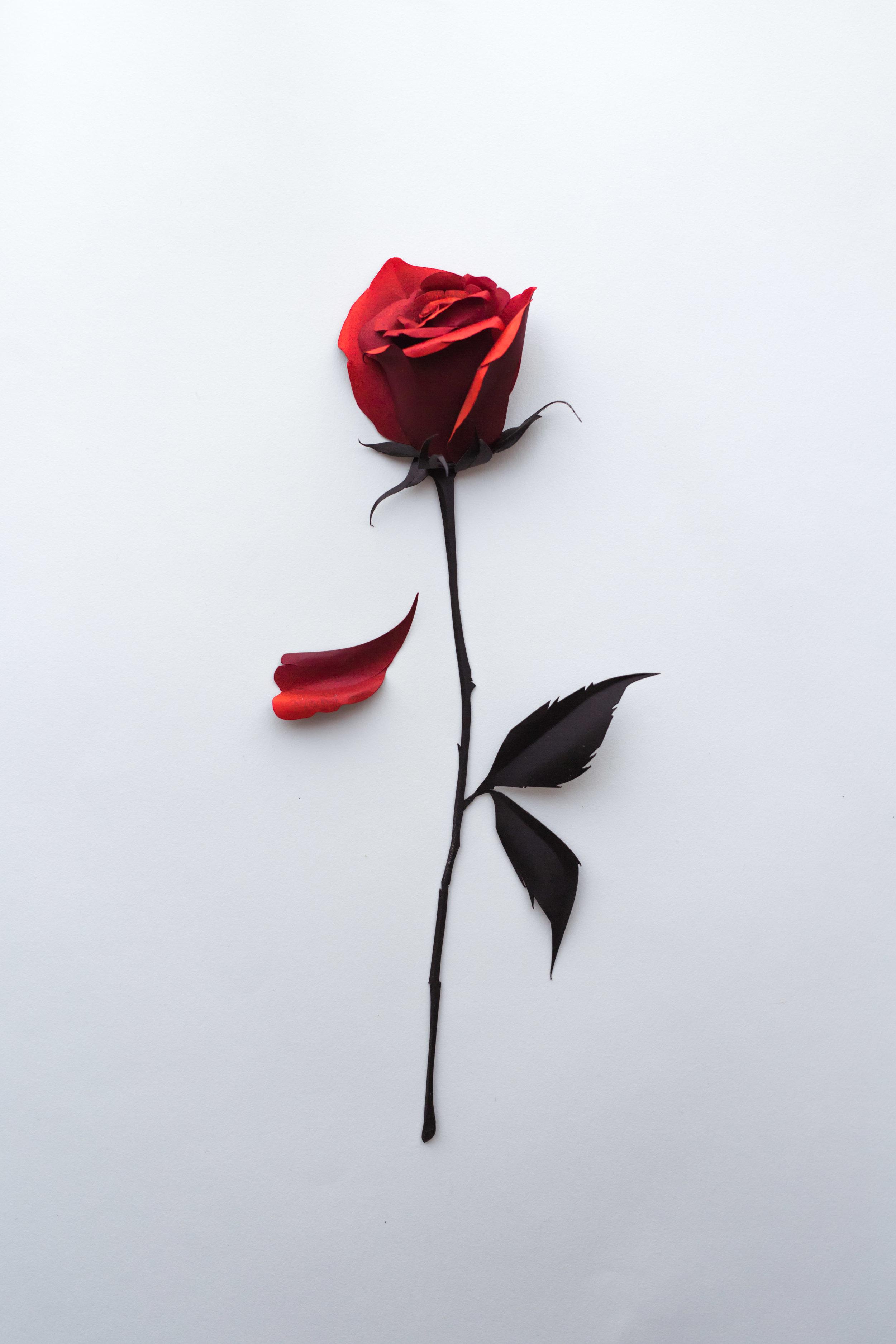 Rose-Sculpture