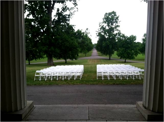 Tulip Grove Front Lawn Ceremony