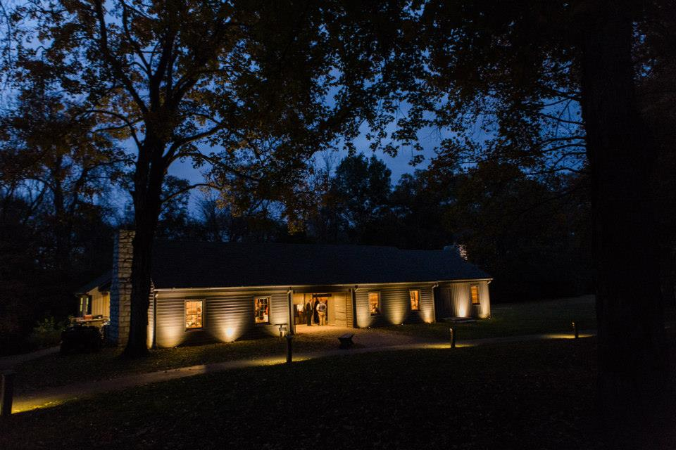 Hermitage Wedding Cabin by the Spring evening.jpeg