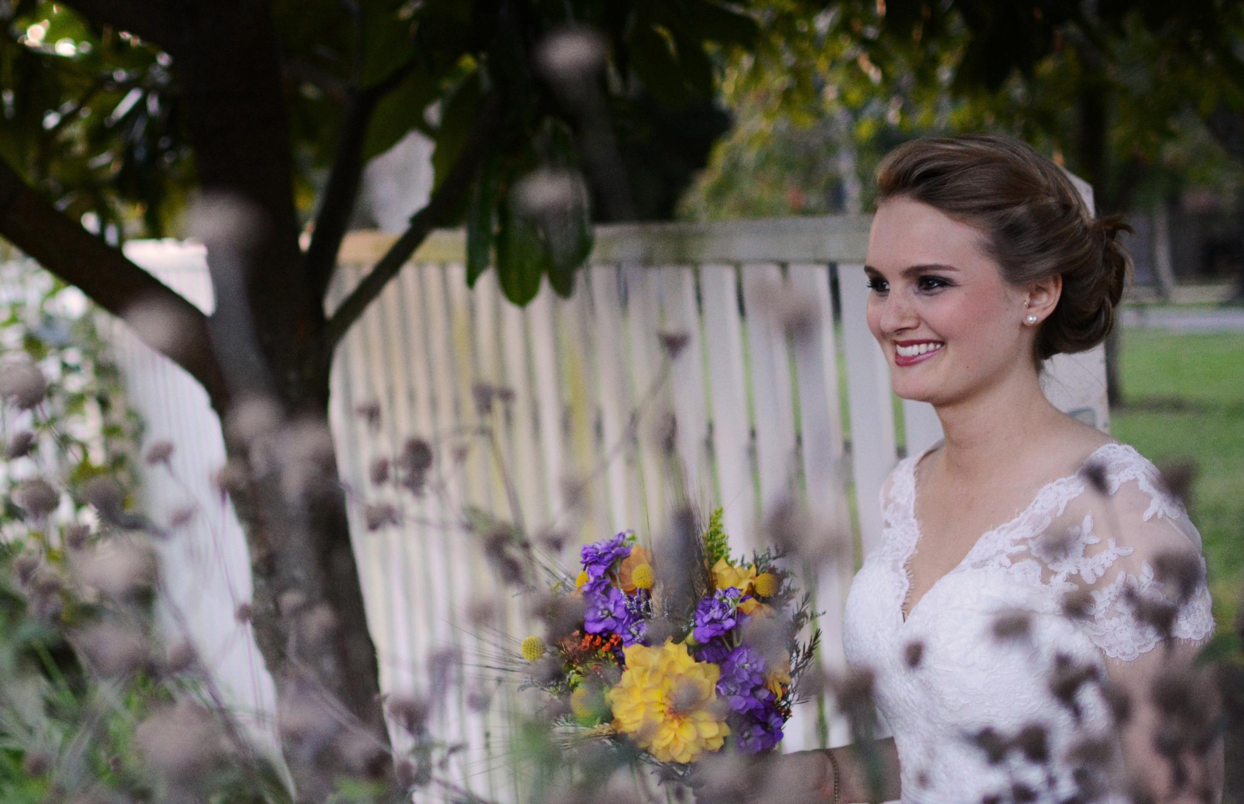 Hermitage Wedding bride in garden.jpeg