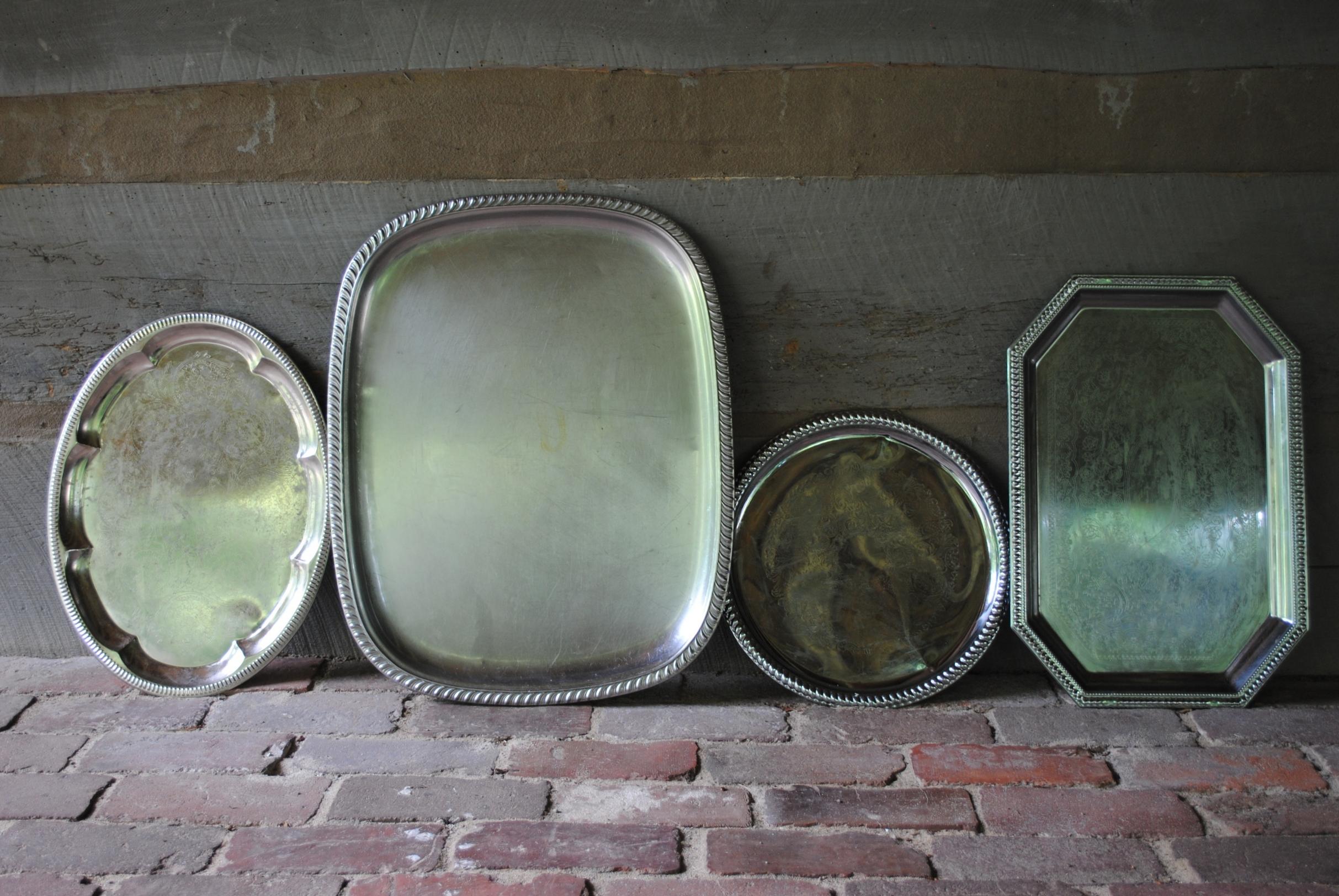 Silver Platters: Patsy, Penelope, Pearl, & Petunia