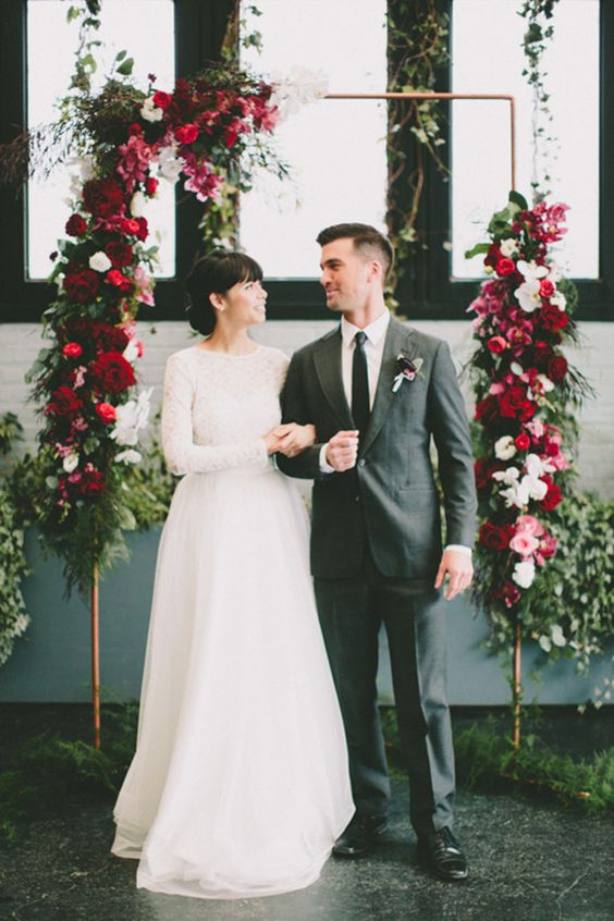 100 Layer Cake - Modern Brooklyn Wedding Inspiration