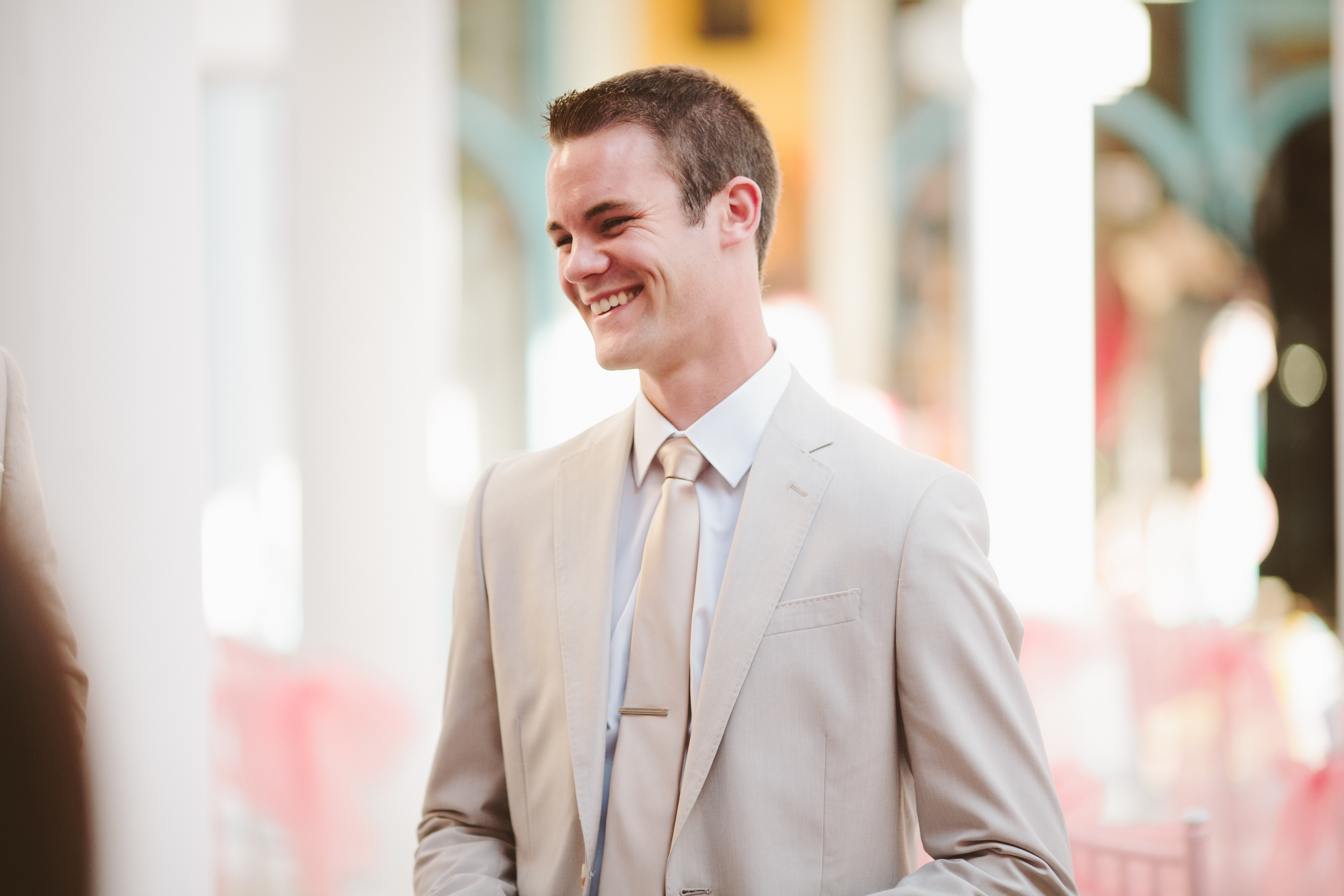 This is my younger brother, Daniel. He officiated our wedding, and we are so glad he did! :)