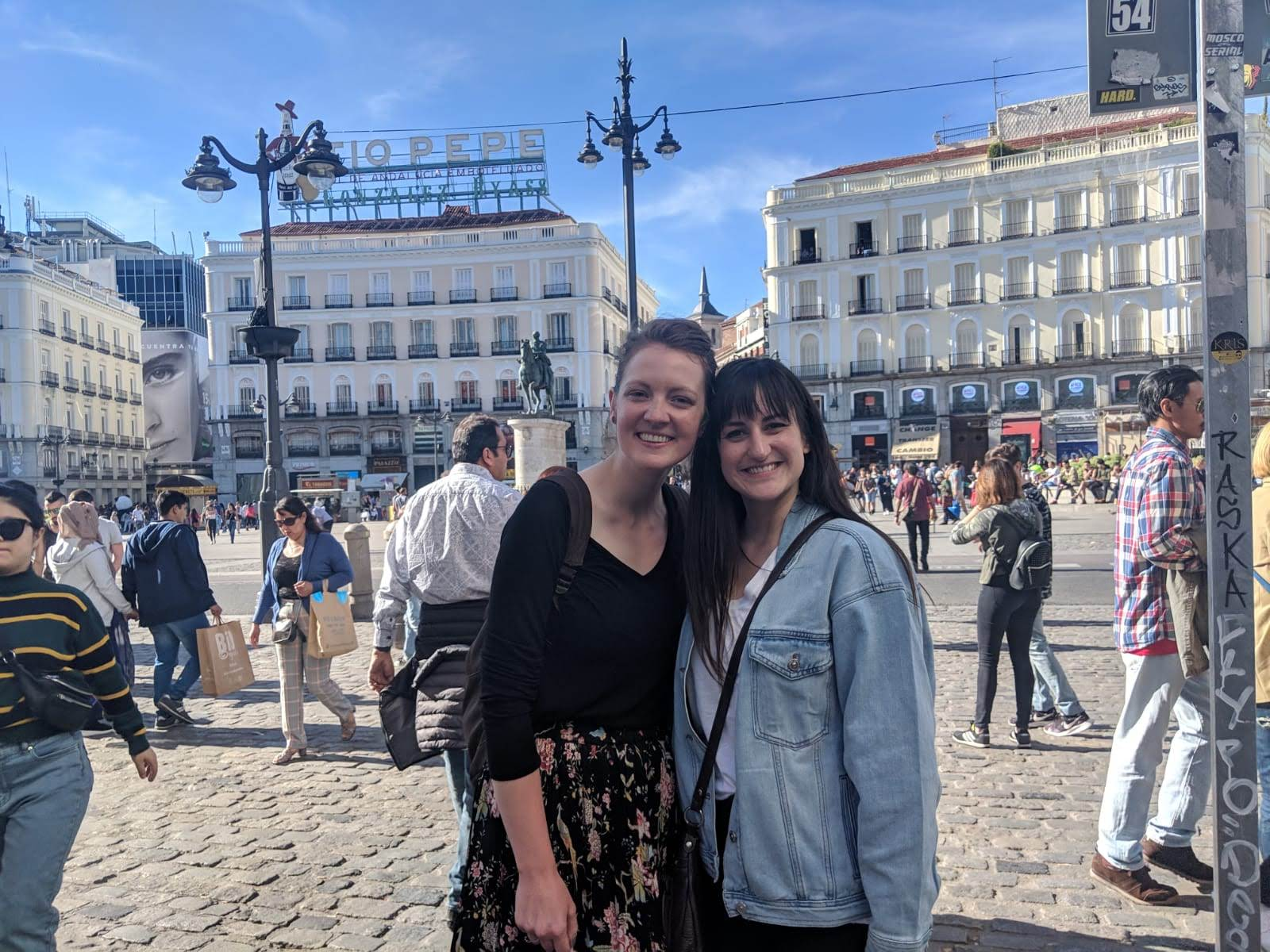 Met up with another dear friend from childhood, Susie. We spent some quality time downtown Madrid.