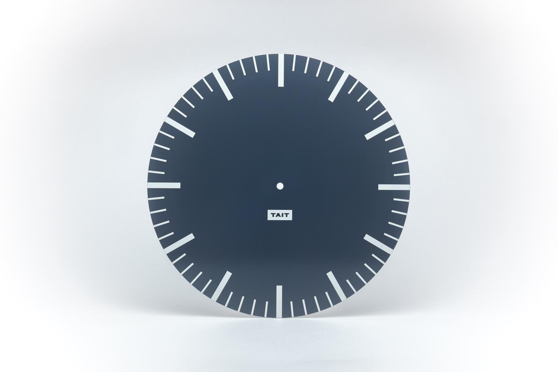 Wall Clock Slate Tait Design Co