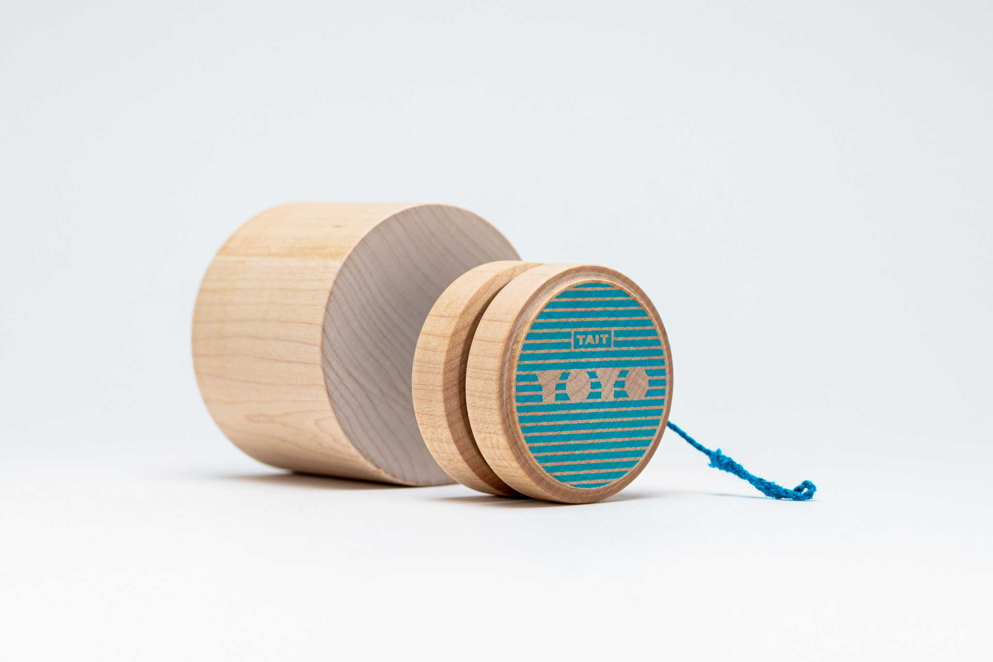 THE BODY - –SOLID HARD MAPLE–Our Sling-Slang YOYOs are crafted from a single piece of hard maple wood. Most YOYOs are made using glue and dowels. By designing from a single piece instead, our YOYOs are made to last a lifetime.