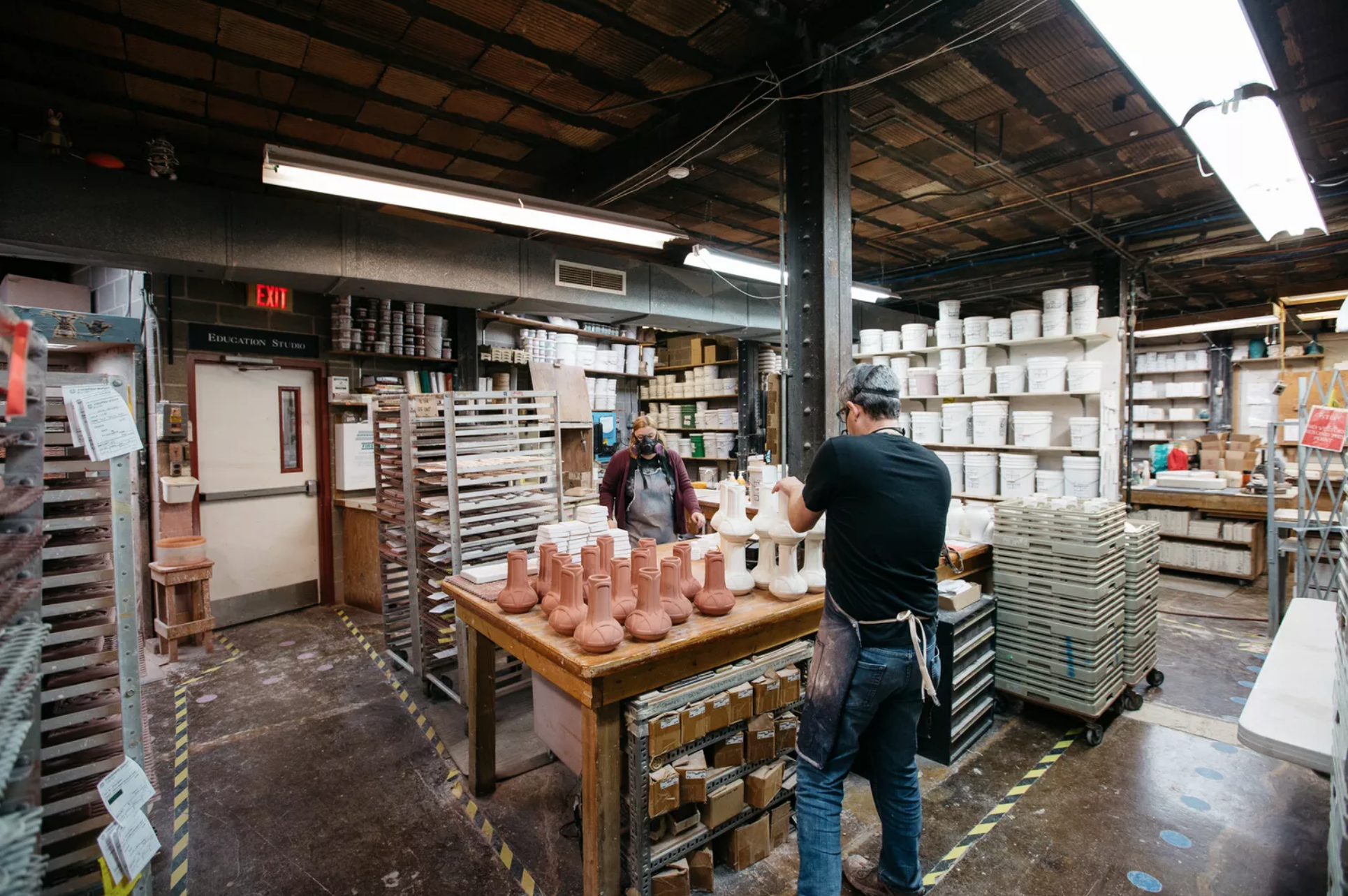 Pewabic Pottery | Photo Credit: Michelle & Chris Gerard