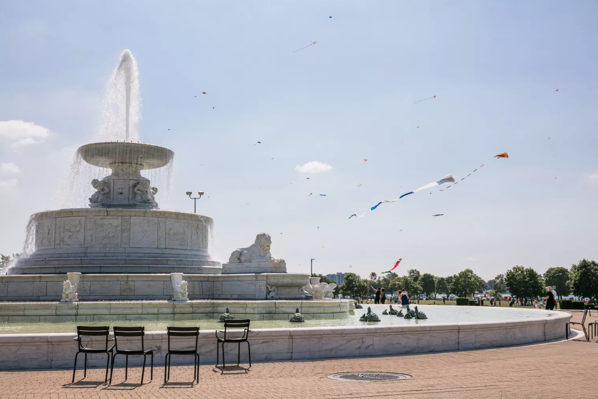 Belle Isle Fountain | Photo Credit: Michelle & Chris Gerard