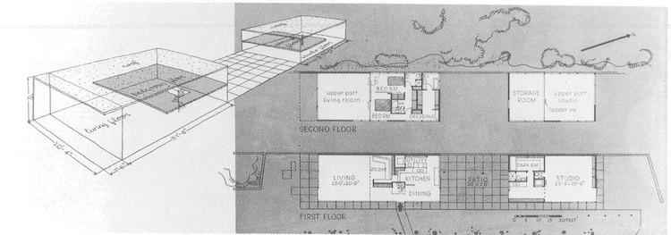 Eames House Blueprints | By Charles Eames