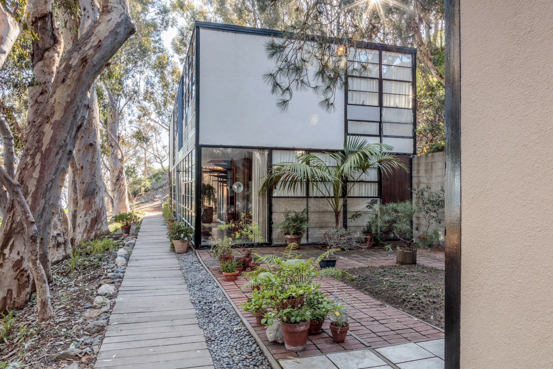 The Eames House | Photo Credit: Leslie Schwartz and Joshua White