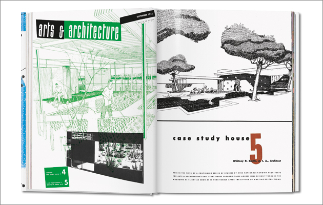 Spread from Arts & Architecture, September 1945