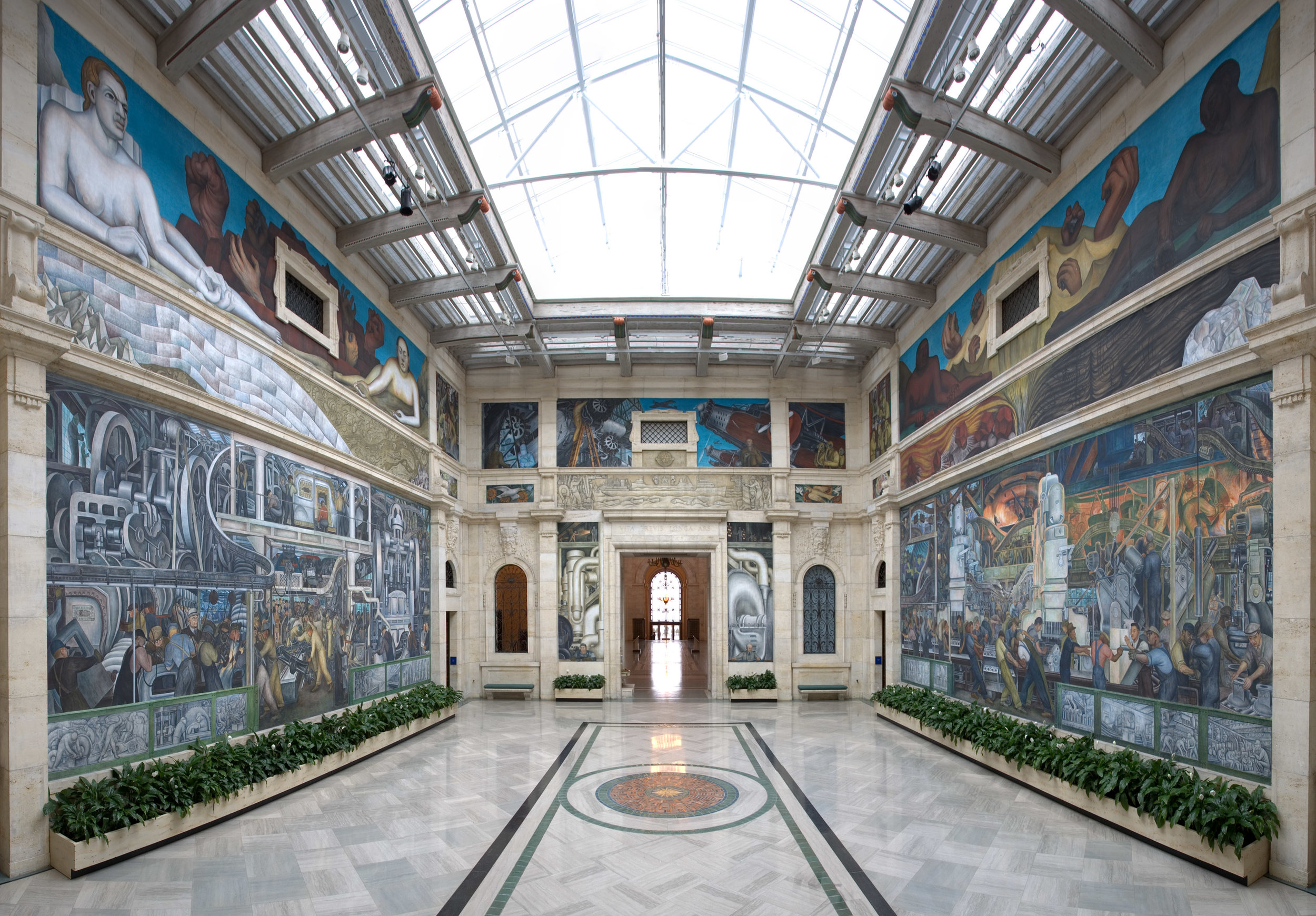 Rivera Court at the Detroit Institute of Arts | Photo Source: Detroit Institute of Arts