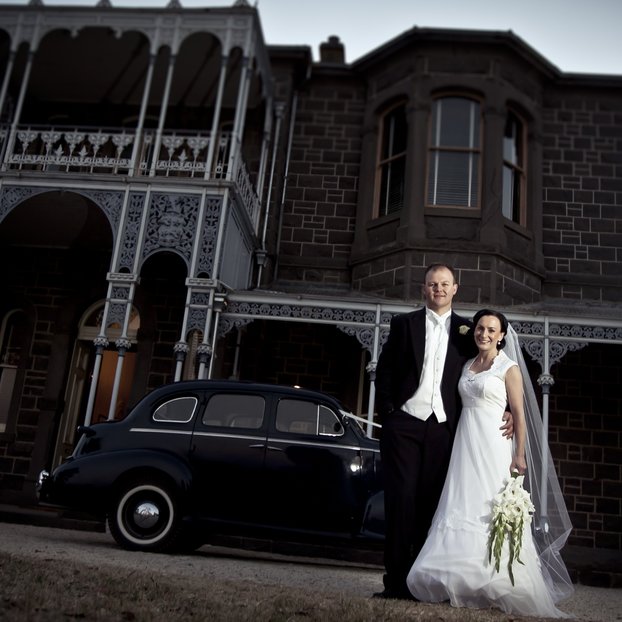 A Grand Mansion Wedding