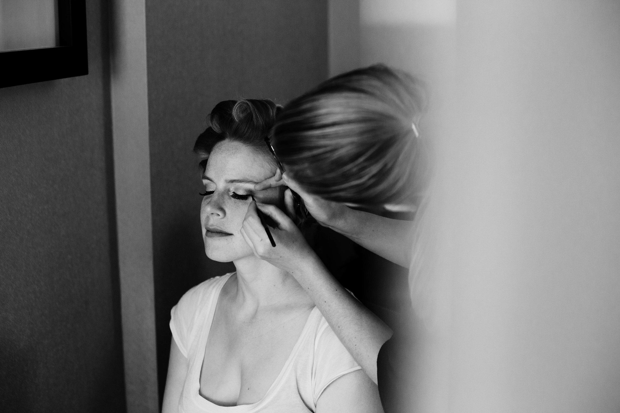 Alison Henthorn - makeup artist & HAIR STYLIST