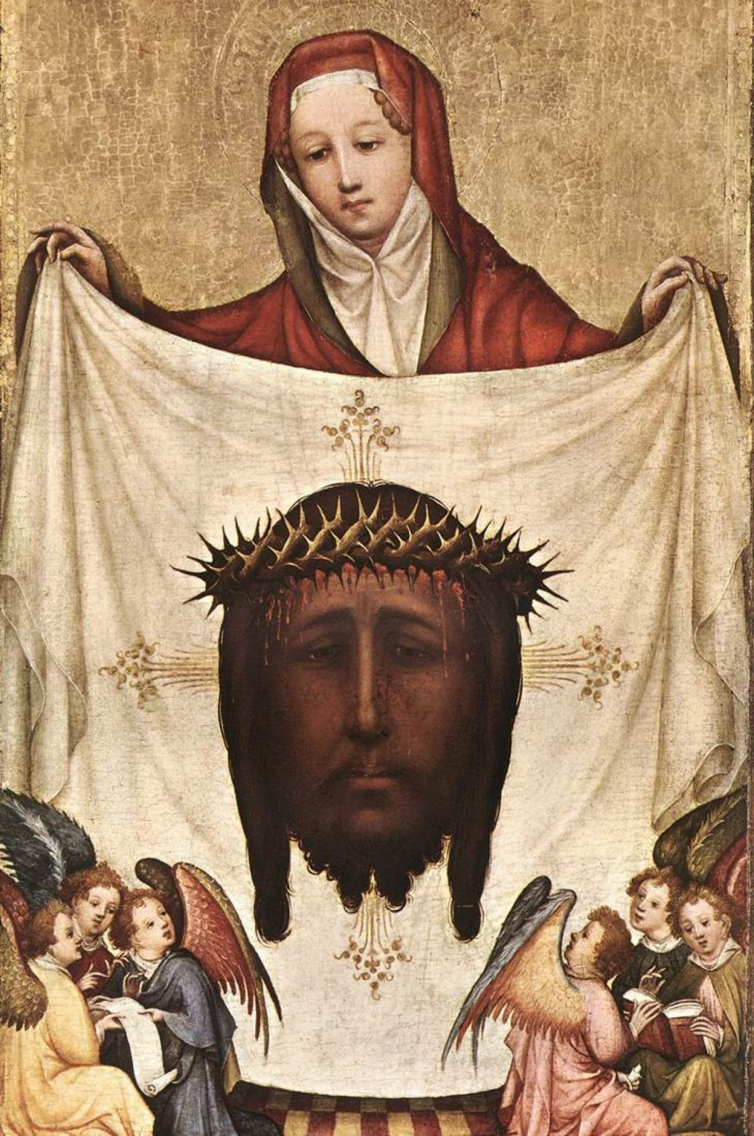 St Veronica with the holy kerchief Master of St Veronica