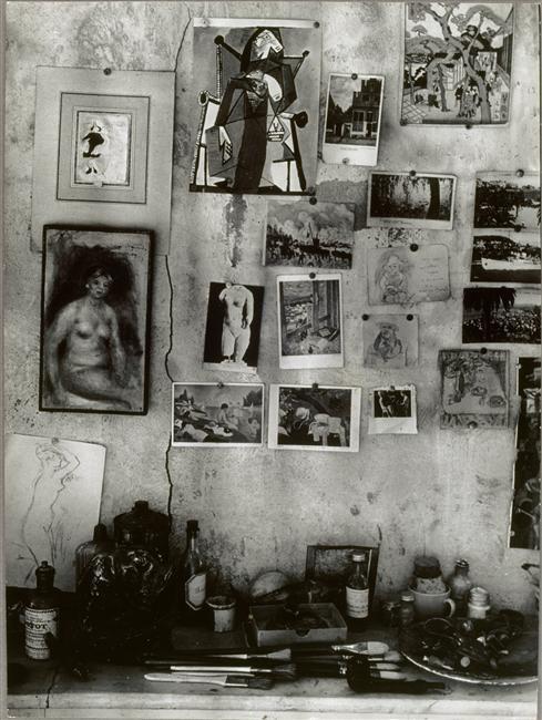 Mur chez Bonnard (estampe japonaise), 1946, Brassaï (1899-1984)