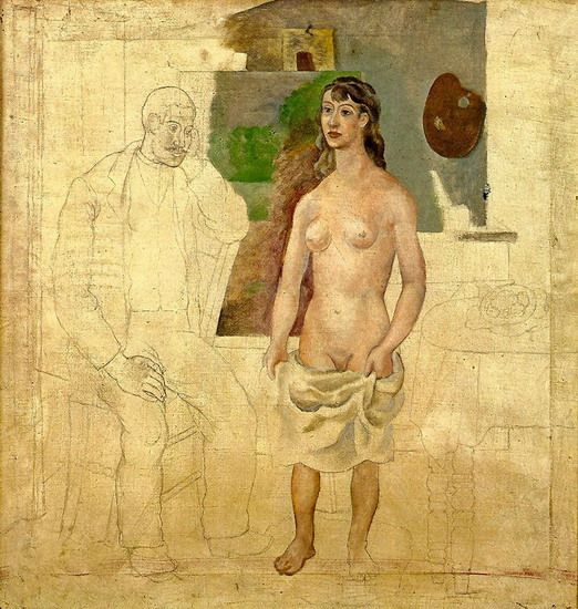 Artist with His Model, Picasso