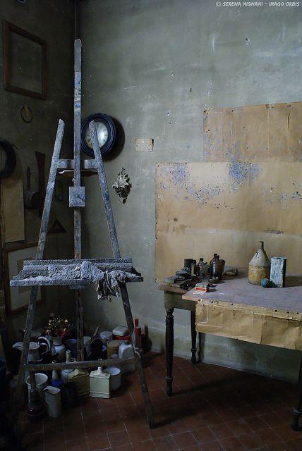 Morandi's studio (Imago Orbis on Flickr)