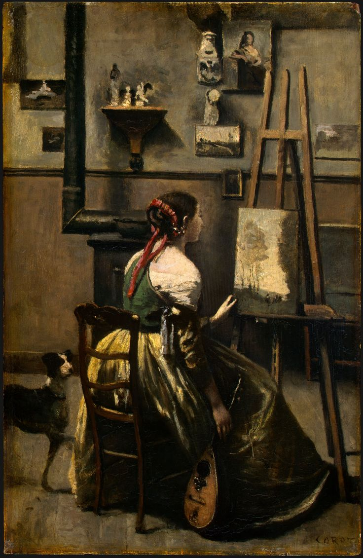 The Artist Studio, Corot
