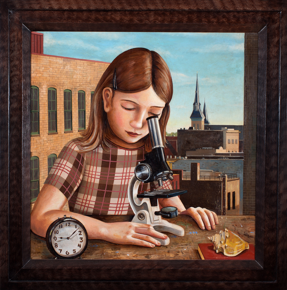Microscope Girl