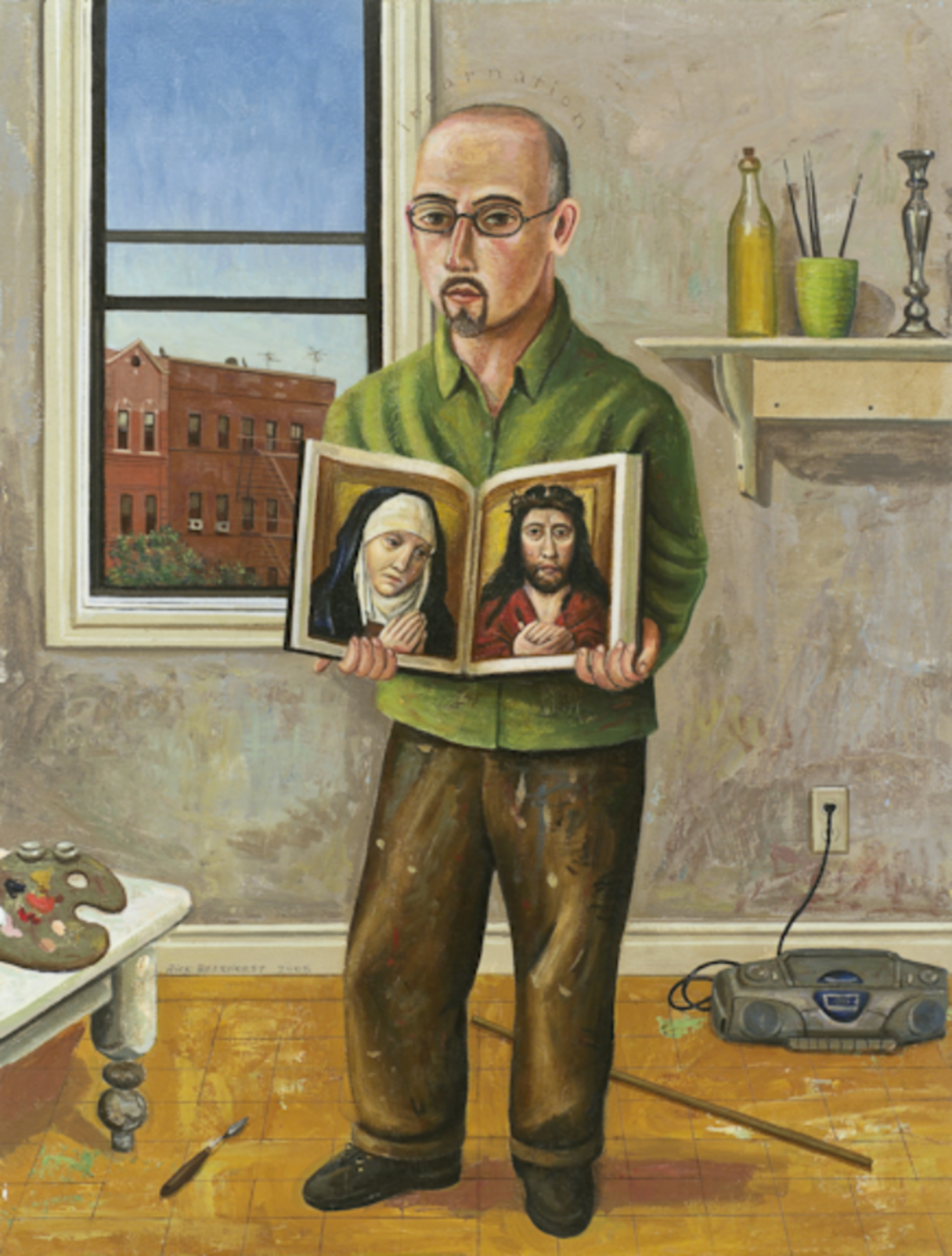 Brooklyn Self-Portrait (SOLD)