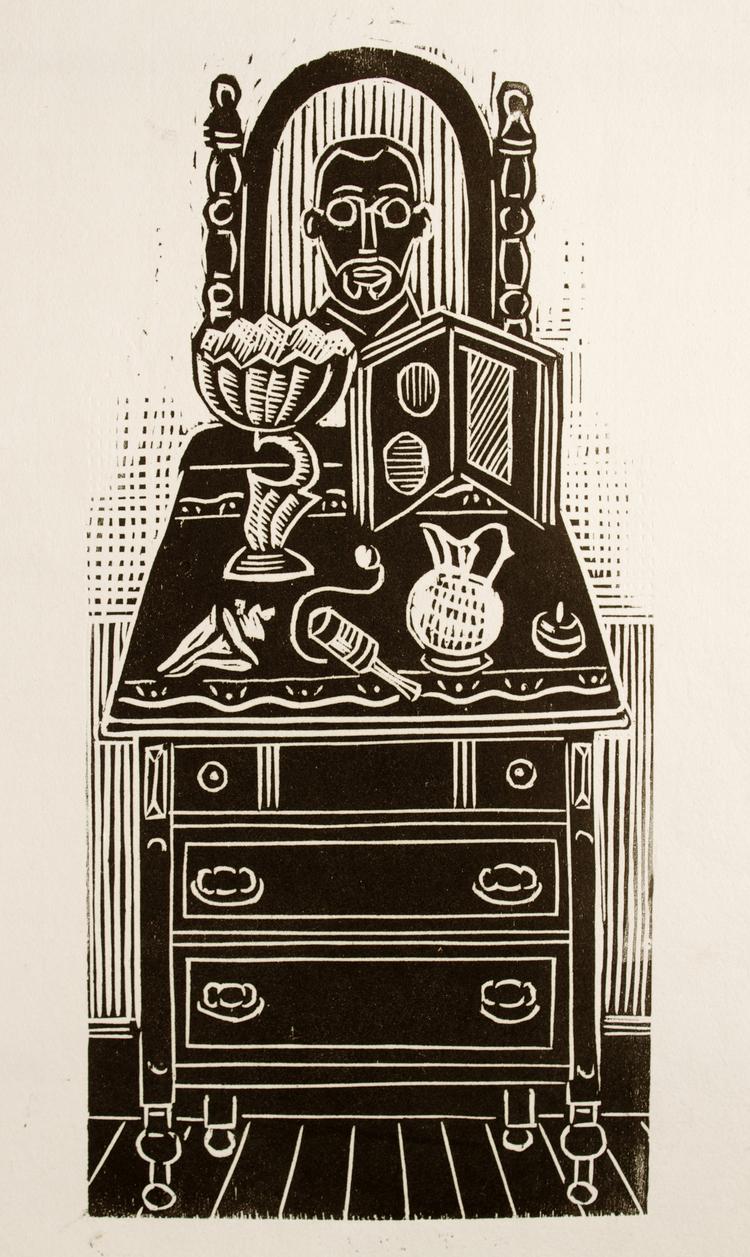 Dresser Self-Portrait