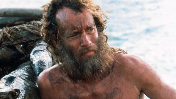 Tom Hanks in the movie Cast Away