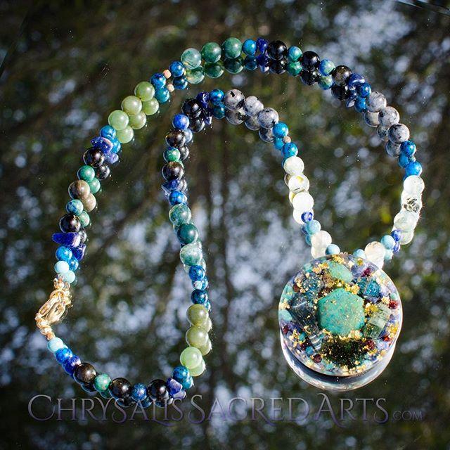 Running a sale on our Etsy today through 3/9! https://www.etsy.com/listing/681367027/orgone-amulet-chrysocolla-moldavite.  #chrysocolla #moldavite #hawkseye #greentourmaline #apatite #quantumquattro #shungite #blacktourmaline #gold #orgone #orgonite #orgonependant #talisman #amulet #adept #initiate #energyhealing #energy #crystalenergy #crystalhealing #chakras #reiki #wholenessandbalancedvibrations #healing #meditationtools #highvibrations #emfprotection